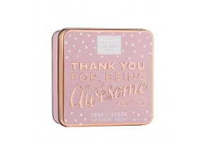 40562 1 scottish fine soaps mydlo v plechu thank you for being awesome 100g