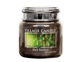 45494 1 village candle vonna svicka ve skle bambus black bamboo 3 75oz