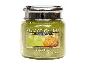 57750 village candle vonna svicka ve skle glam apple 3 75oz