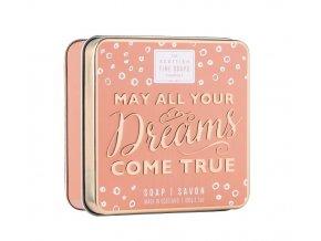 40571 1 scottish fine soaps mydlo v plechu may all your dreams come true 100g