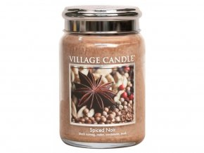 42629 1 village candle vonna svicka ve skle koreni zivota spiced noir 11oz