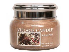 60504 village candle vonna svicka ve skle koreni zivota spiced noir 11oz