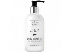 39413 1 scottish fine soaps koupelovy a sprchovy gel au lait 300ml