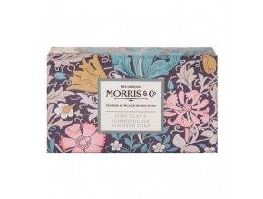 46915 1 heathcote ivory luxusni trikrat jemne mlete mydlo pink clay honeysuckle 240g