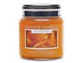 46325 1 village candle vonna svicka ve skle citrusove osvezeni citrus twist 16oz