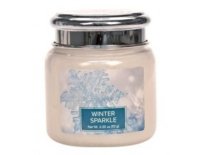 43580 1 village candle vonna svicka ve skle winter sparkle 3 75oz