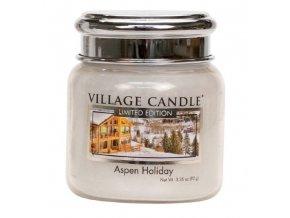 56724 village candle vonna svicka ve skle aspen holiday 3 75oz