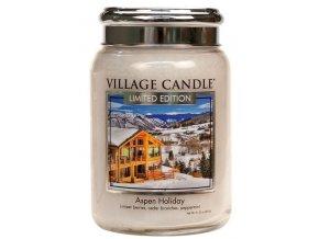 56712 village candle vonna svicka ve skle aspen holiday 26oz