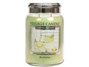 44438 1 village candle vonna svicka ve skle revitalize 26oz limited edition