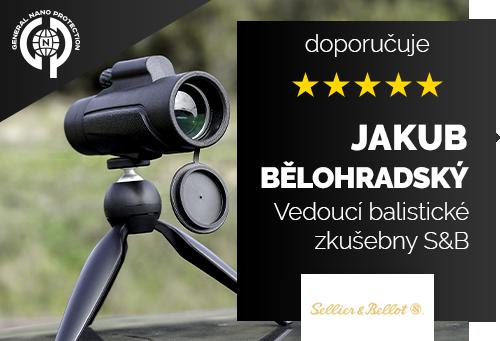 Jakub Bělohradský, DiS. - vedoucí balistické zkušebny S&B