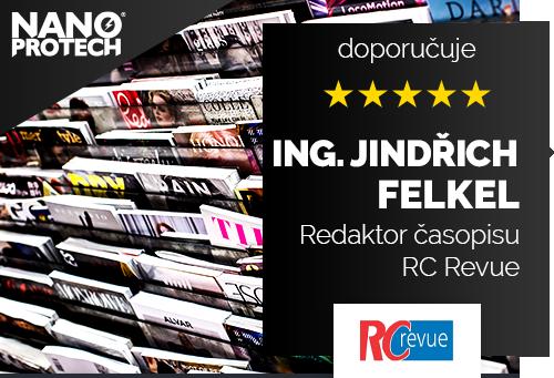 Ing. Jindřich Felkel - redaktor časopisu RC Revue