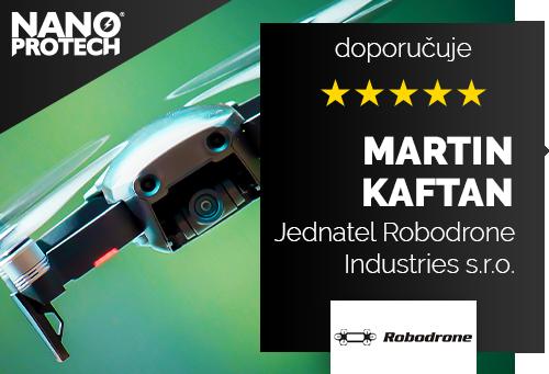 Martin Kaftan - jednatel společnosti Robodrone Industries s.r.o.