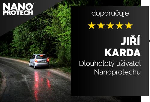 Jiří Karda - Dlouholetý uživatel Nanoprotechu