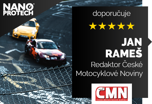 Jan Rameš - redaktor časopisu České Motocyklové Noviny