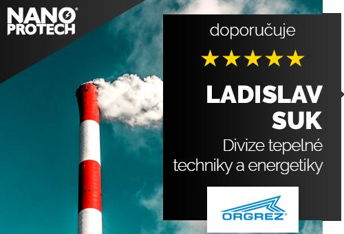 Ing. Ladislav Suk - ORGREZ, a.s., Divize tepelné techniky a energetiky