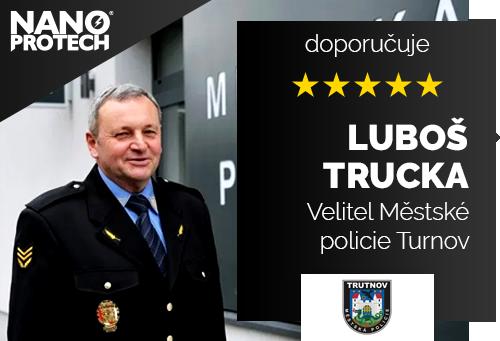 Luboš Trucka - Velitel Městské policie Turnov