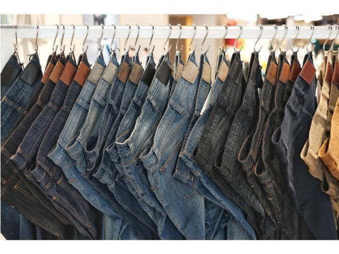 Premium mix jeans, trousers outlet