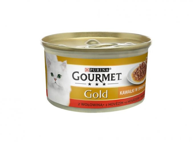 131903 gourmet gold konzerva pro kocky sauce delight minifiletky hovezi 85g