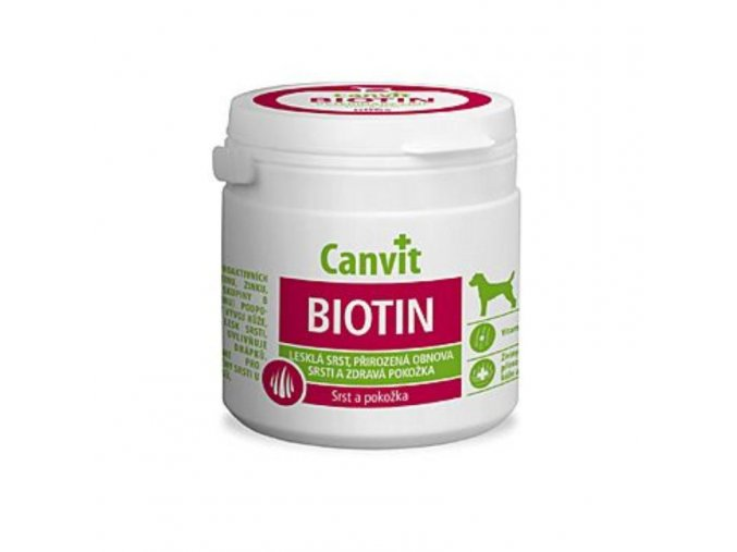 canvit biotin pro psy 230g new