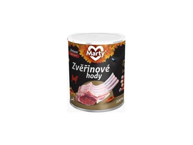 konzerva marty deluxe zverinove hody 800 g