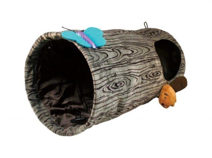146115 hracka cat burrow tunel pro kocky kong