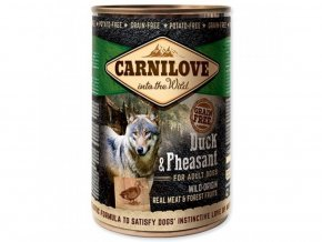738 carnilove dog wild meat duck pheasant 400 g