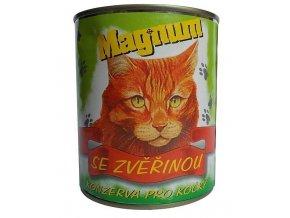 Magnum masová konzerva zvěřina 855 g