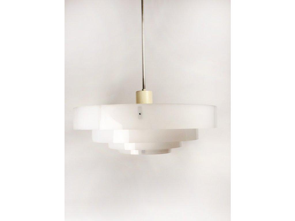 Industrialni svetlo z plexisklovych kruhu 4