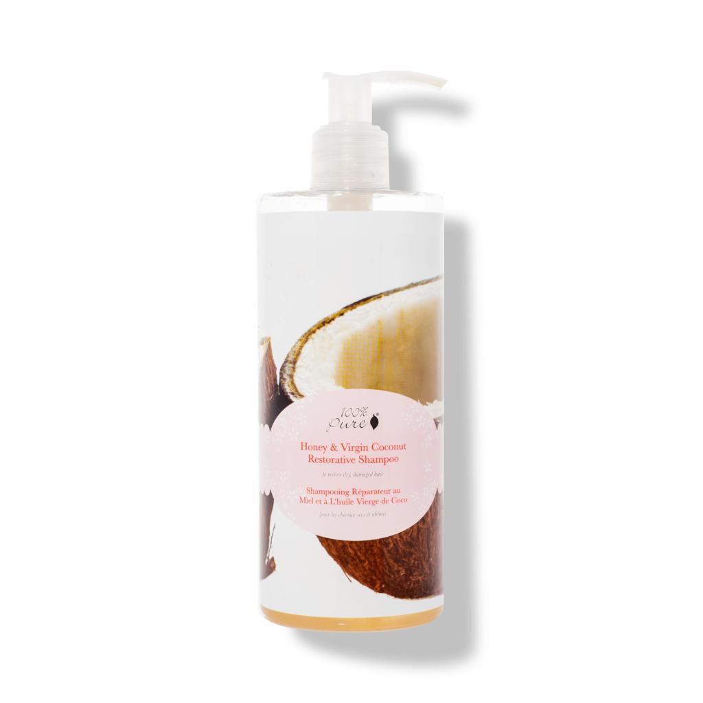1HCSHVCR13OZ Honey Virgin Coconut Shampoo 13OZ Primary