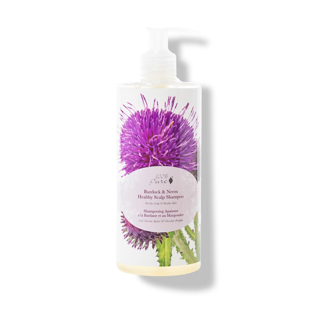 1HCSBNHS13OZ Burdock Neem Healthy Scalp Shampoo