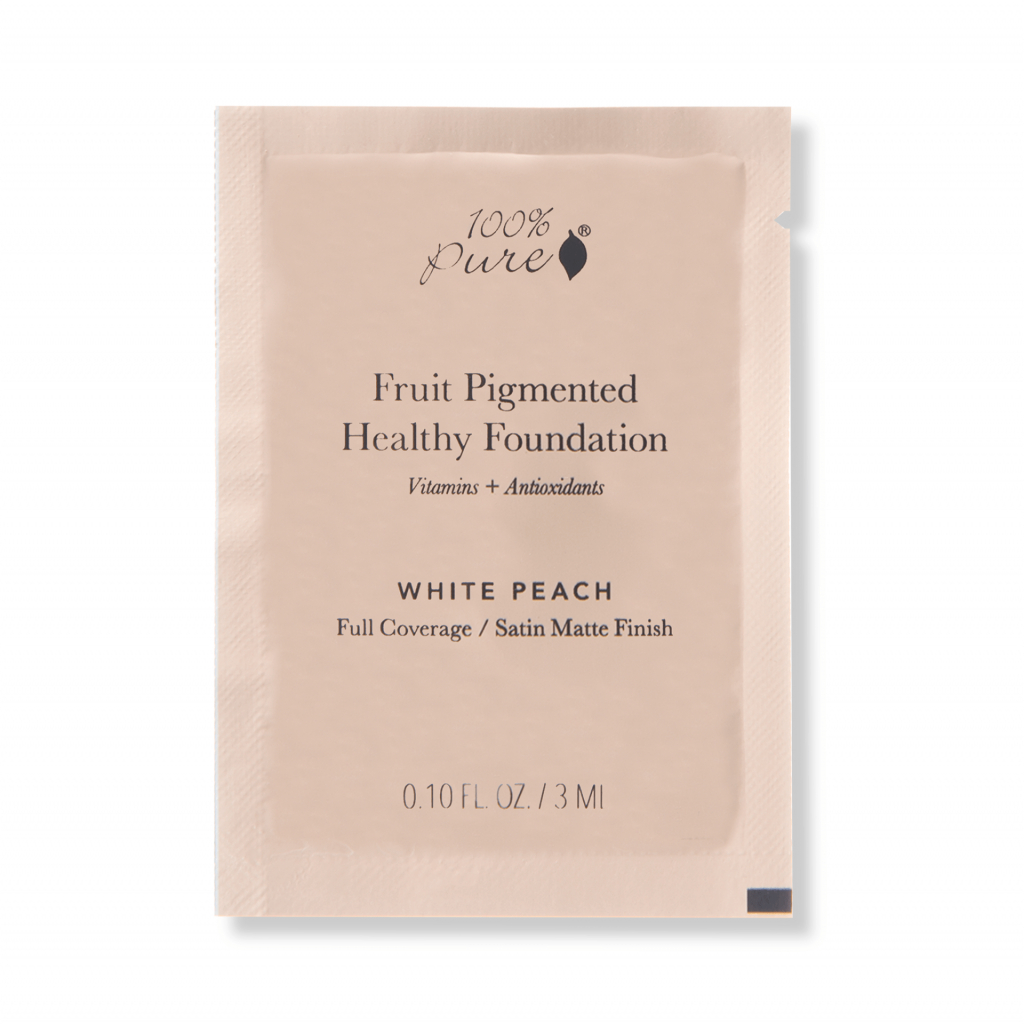 1SPCFFCWP Sample packet Healthy Foundation White Peach Primary