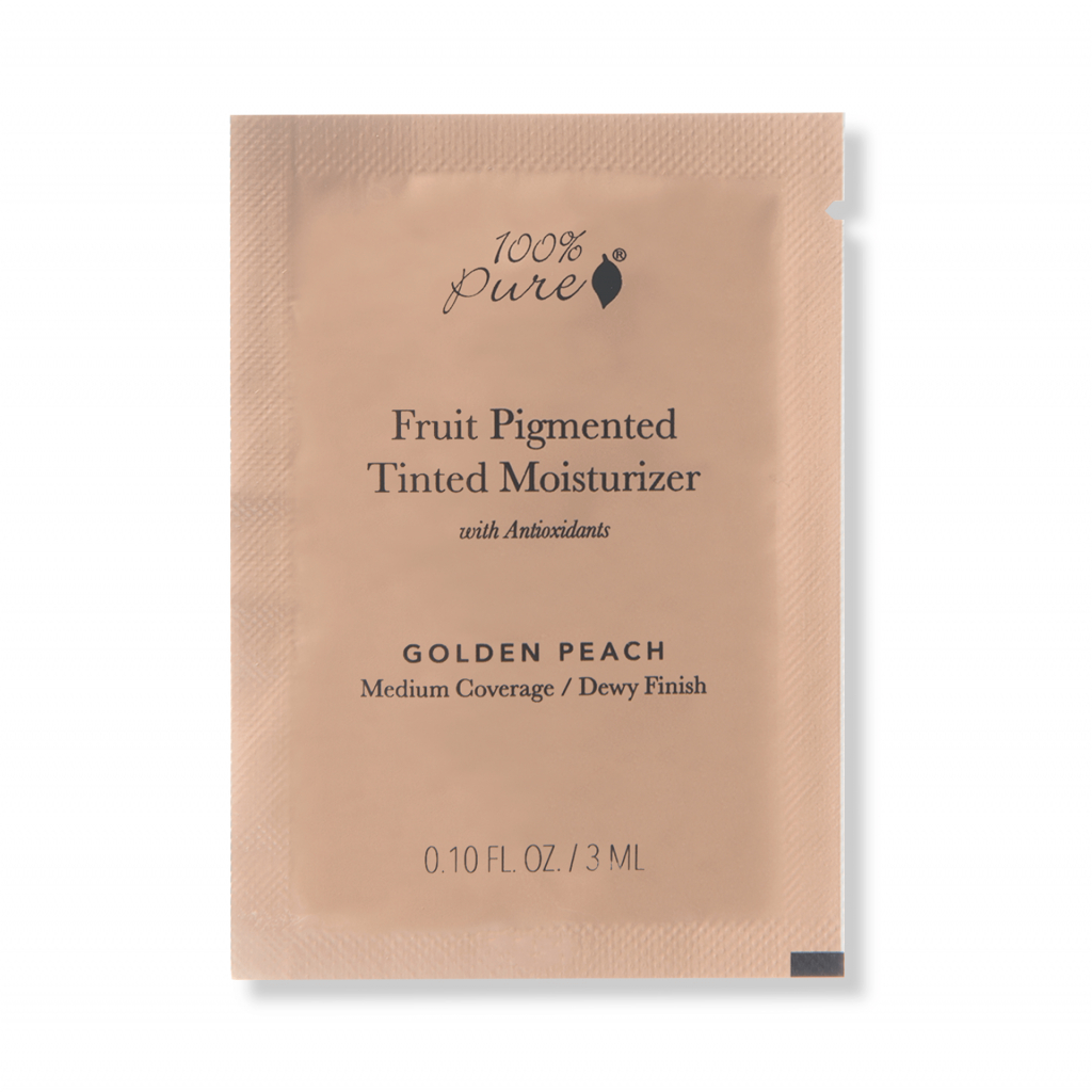 1SPCTMGP Sample packet Tinted Moisturizer Golden Peach Primary