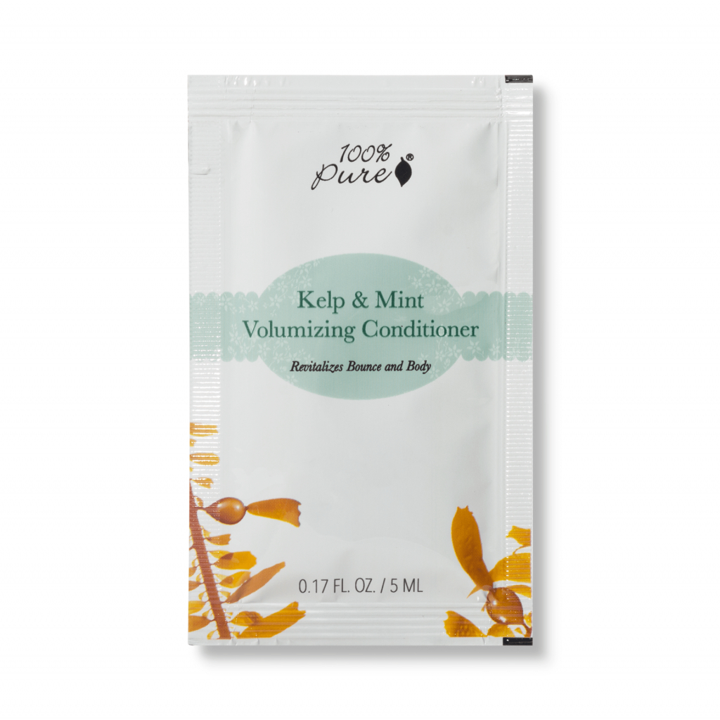 1SPHCCKMV Sample packet Kelp And Mint Volumizing Conditioner Primary