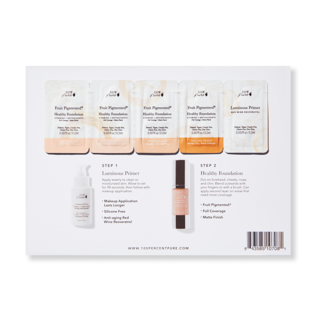 sample card healthy foundation