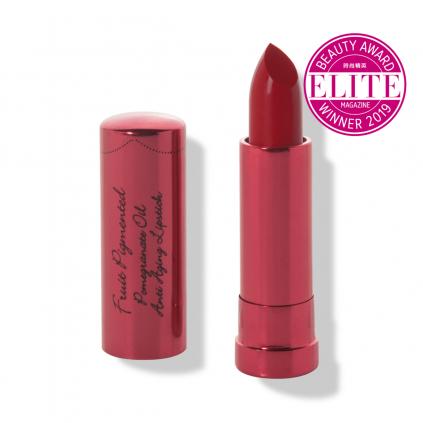 1CPLPO Fruit Pigmented® Pomegranate Oil Anti Aging Lipstick Poppy Primary