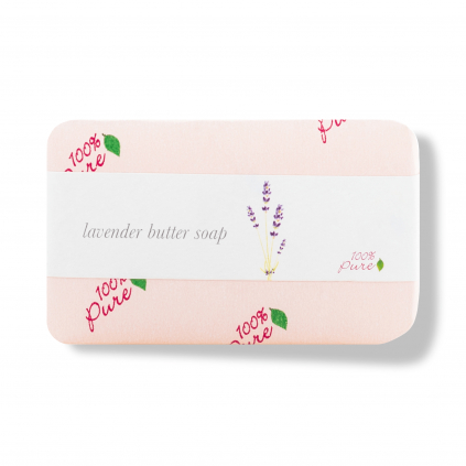1BSOL Lavender Butter Soap Primary