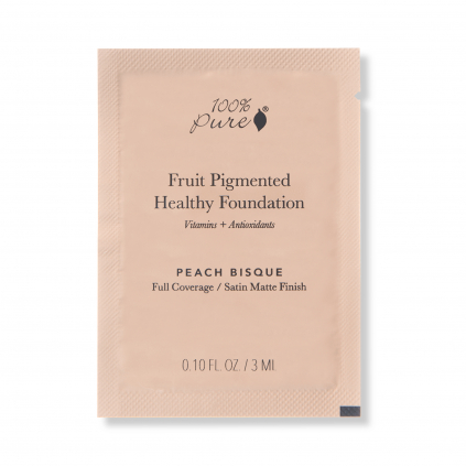 1SPCFFCPB Sample packet Healthy Foundation Peach Bisque Primary