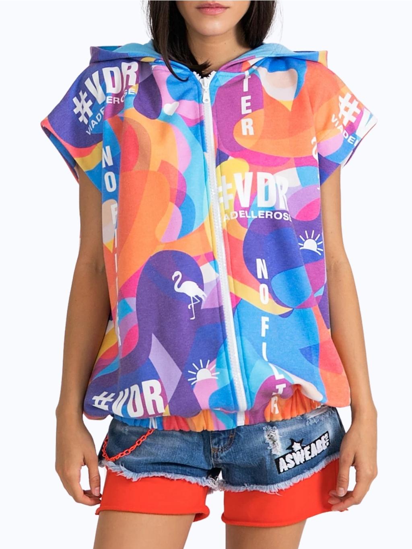#VDR Multicolor - dámská mikina