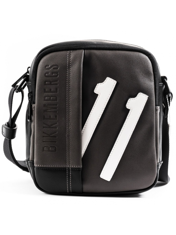Bikkembergs 11 pánska crossbody taška 8056034243960 E91PME570012G81 čierna (4)