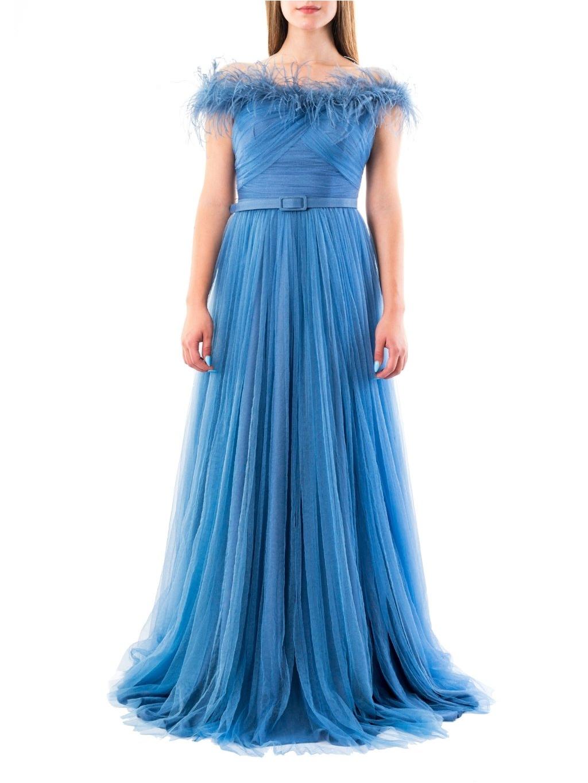 FOR COSTUME šaty modré 4949 (2)