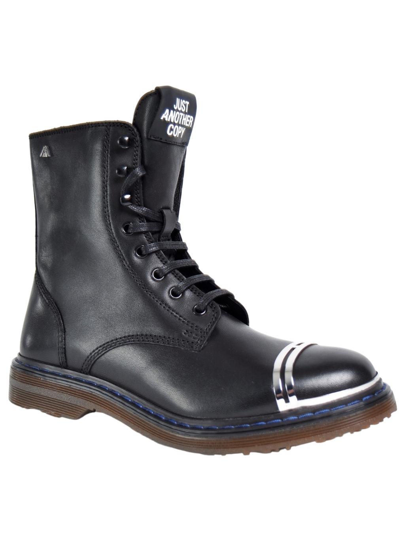 just another copy savage black leather nickel chain jacsav008 damske clenkove topanky (3)