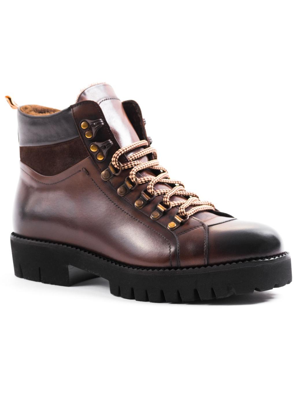 Roberto Serpentini Marrone pánske workery 9900000388362 59502 zimná obuv (6)