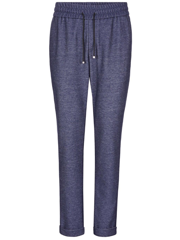 O18C MRT0446 BTE004N long trousers crest billionaire dark blue pánske tepláky modré