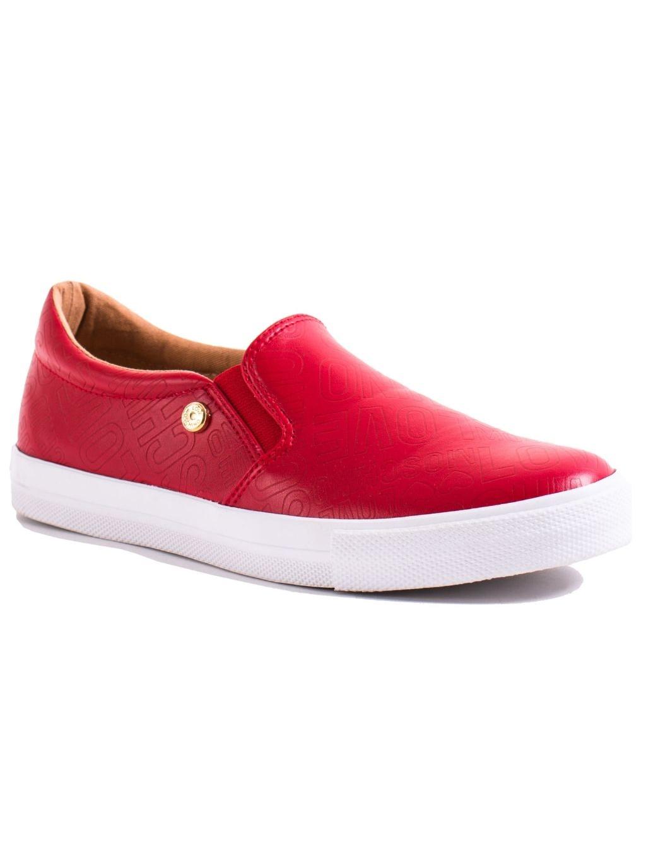 LOVE MOSCHINO Embossed Rosso dámske tenisky JA15123G13ID0500 cervena (3)