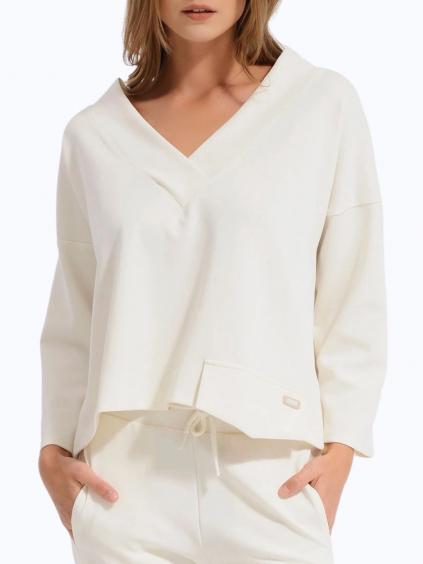 8393 vdr panna damska bluzka biela