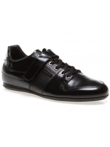 BIKKEMBERGS Springer Black pánske tenisky (Barva Černá, Velikost 44 EU)