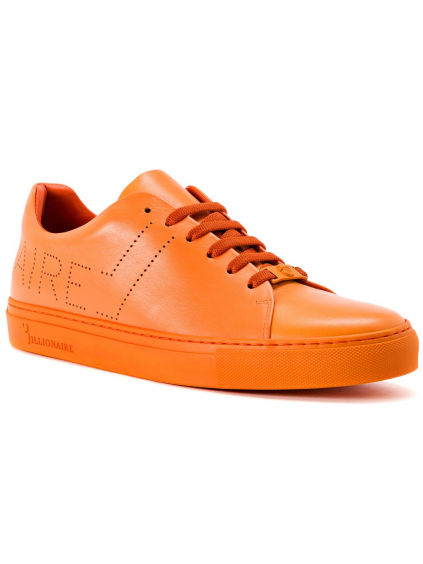 O18S MSC1625 BLE042N 20 lo top sneakers original orange billionaire pánske tenisky oranžové