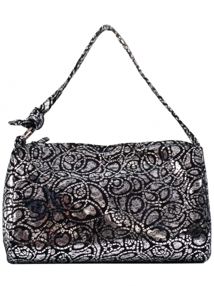 birmano silver damska kabelka strieborna (5)