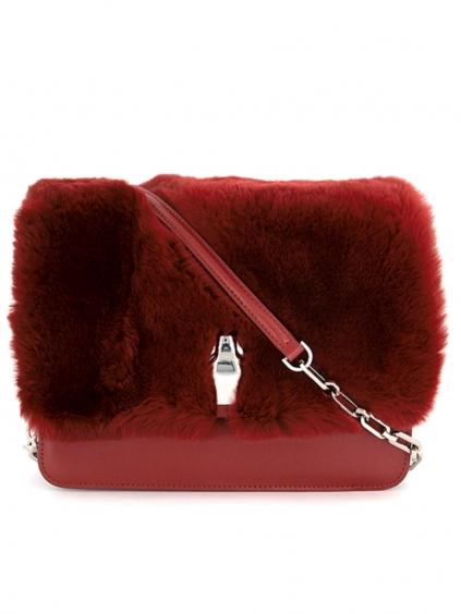 cavalli class milano remix red medium dámska croosbody kabelka červená (1)