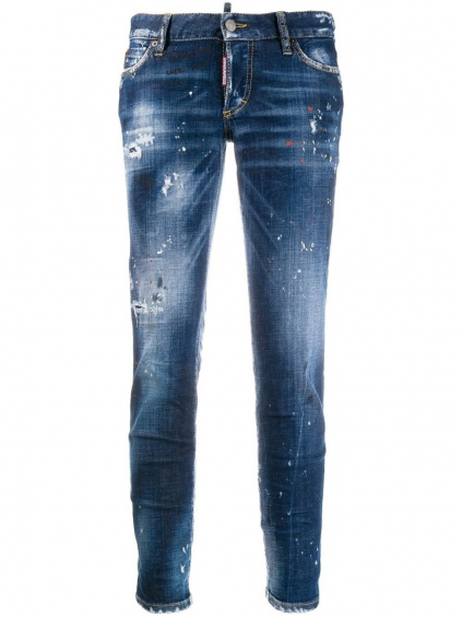 S75LB0202S30342 DSQUARED2 distressed skinny jeans